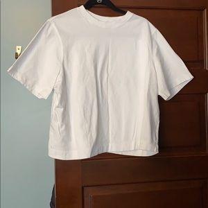 Uniqlo - women's white body tee shirt